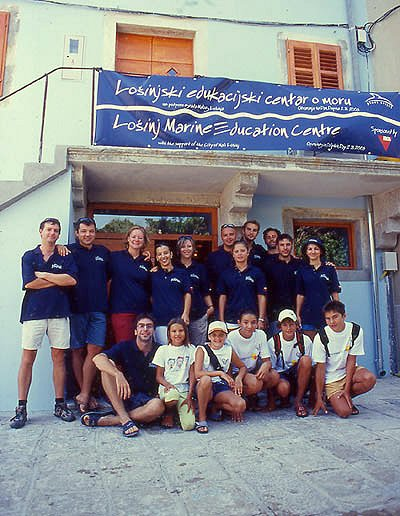 Delphinzentrum in Veli Losinj